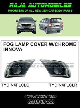 Innova Type4 Fog Lamp Cover with Chrome