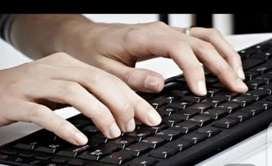 Ms word typing jobs Everyone who has basic skills computer and have
