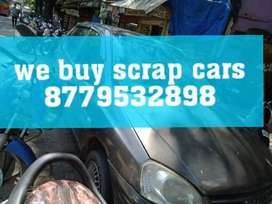 Dissmentalled scrap car buyer