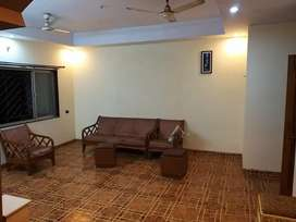 3bhk flat semi furnished
