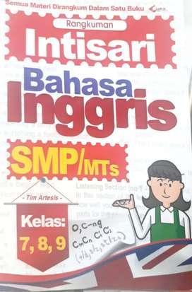 Buku Intisari Bahasa Inggris