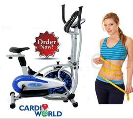 Steel Wheel Orbitreck with strong sturby in Cardioworld