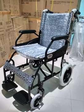 Kursi roda hitam gea travelling