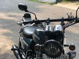 Modified Royal Enfield Thunderbird 350