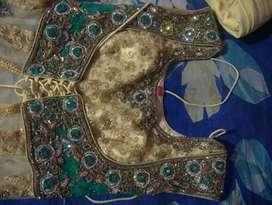 Grand cream colour bajiroa dress