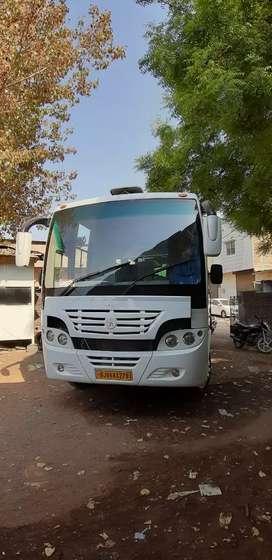 Ashok layland lynks 28 full push back seat ac bus