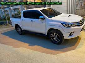 Toyota Hilux automatic Revo get on very very easy installments