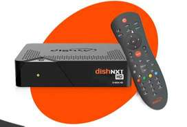 DishTV HD Set Top Box (STB) with Remote, HDMI cable, Adaptor