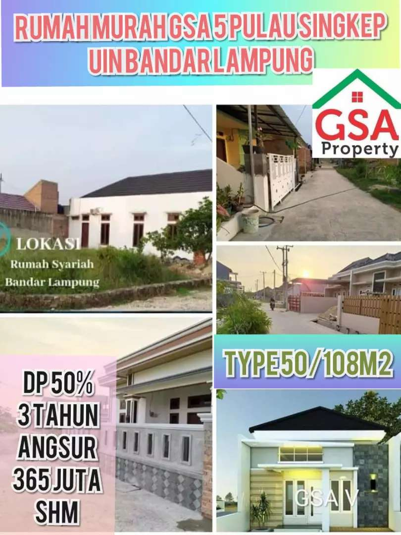 Perum dekat kampus UIN Bandar Lampung 0