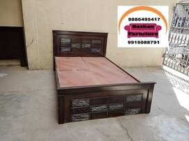 brand new design double cot 5x6.5feet queen size