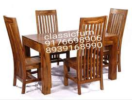 brand new fast moving wooden dining table set