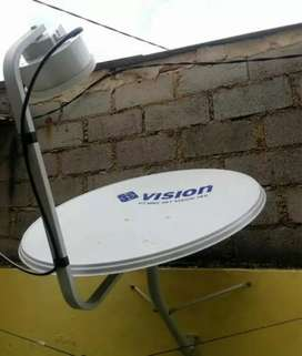 Pasang parabola indovision Mnc Vision tv parabola bergaransi resmi
