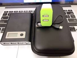 10,400 Mah Real Mah POwer Bank+With Free Cable and Gotka .