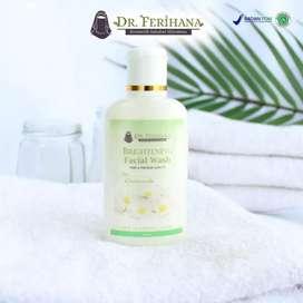 Facial Wash Brightening 60ml by dr. Ferihana Cosmetics