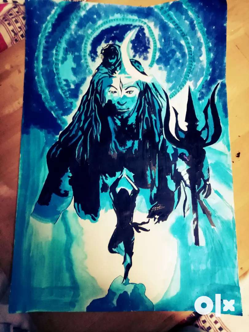 Painting of lord shiva 0