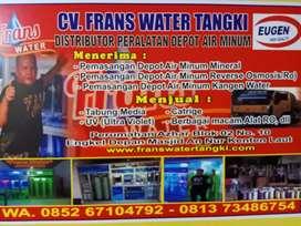 Alat air mineral siap pasang CV Frans water