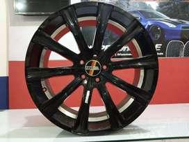 Velg mobil Type HSR Bisa cicilan Ring 20 lebar 8,5 Pcd 5x114,3