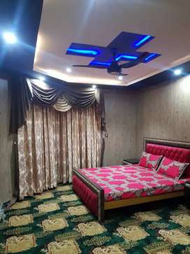 Full furnished brand new bedroom in model town block H for rent