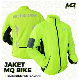 MQ Jacket Bike for Ibadah Hijau Stabilo
