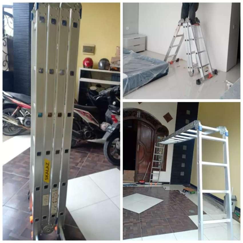 Promo tangga lipat multipurpose. Ready banyak