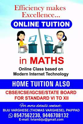 Maths tuition online