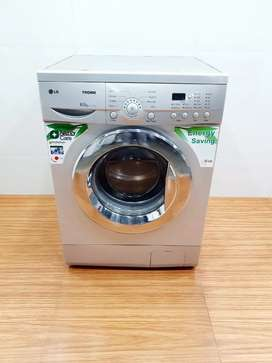 LG 6.5kg tromm front load washing machine full