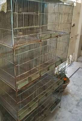 12 Portions Cage/Pinjra For Sale
