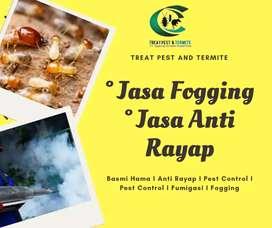 Area Kraton Jasa Anti rayap dan Fogging Nyamuk DBD