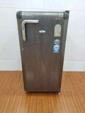 whirlpool 185ltrs grey single door refrigerator