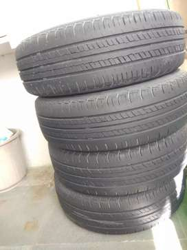 Tyre for swift dzire zdi good condition   4 tyre same condition