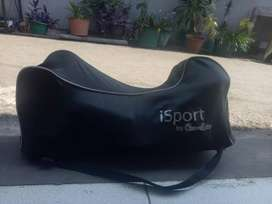 Stroller iSport by Coco Latte , model 3 roda, hijau polkadot