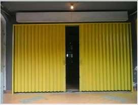 Rolling door foulding gate C