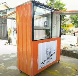 FOOD TRUCK/BOX GEROBAK/CONTAINER TRUCK/BOOTH SEMI CONTAINER