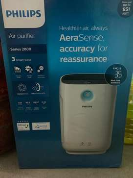 Philips air prufier series 2000