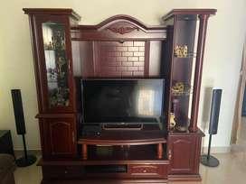 Elegant TV Cabinet Wall Unit