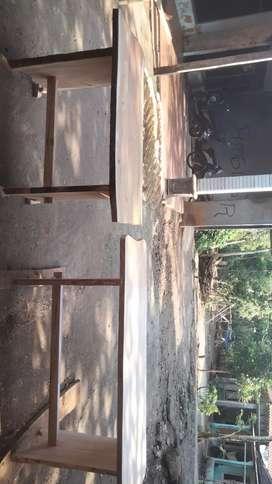 Jual pintu dari kayu mahoni jati dan sesuwai pesenan