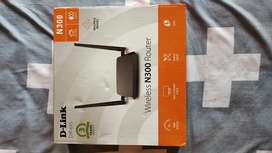 D-Link DIR-615 Wireless Router (1month old)