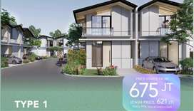 Fresh Launching DP 0% Cendana Parc Lippo Karawaci Quality Home
