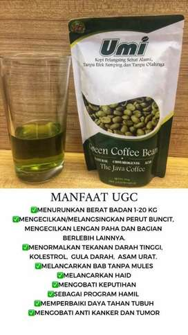 Umi coffee bean herbal pelangsing super ampuh