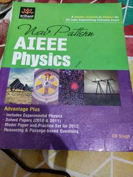 New pattern AIEEE Physics by DB singh