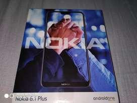 Nokia 6.1 plus full kit with warranty