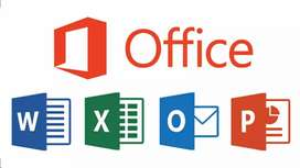 Power point , word , Excel documents & slides
