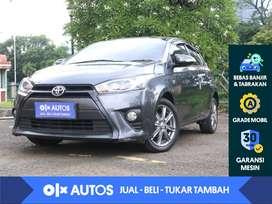 [OLXAutos] Toyota Yaris 1.5 G A/T 2015 Abu - Abu