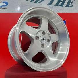 Velg Mobil Yaris dll Ring 16 HSR Wheel LOUD Silver