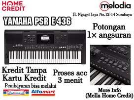 Promo Kredit YAMAHA E-463 Potongan 1× Angsuran di Melodia Musik