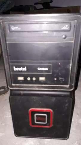 In good condition intel Pentium quad core 256mb ram