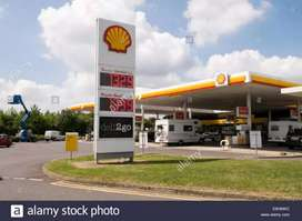 Shell petrol pump for sell
