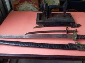 Koleksi Samurai, lonceng belanda, mesin jahit kartini,dll