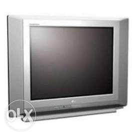 exellent conditon LG flatron 29 inch TV with woofer inside
