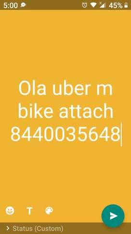 Ola uber m bike attach